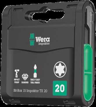 Bit-Box 15 Impaktor TX  - 05057772001 - Wera Tools