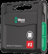Bit-Box 20 V empreinte carrée  - 05057790001 - Wera Tools